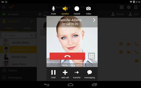 Bria play Tablet Edition apk screenshot