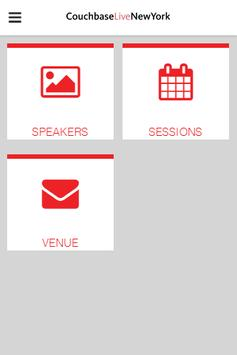Couchbase Live New York poster