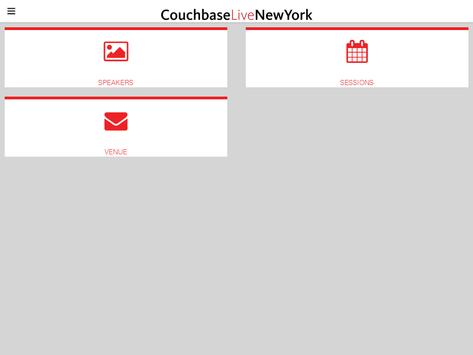 Couchbase Live New York apk screenshot