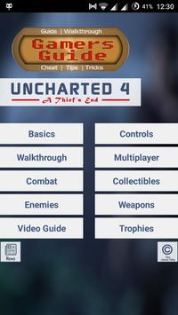 Gamer's Guide for Uncharted 4 poster