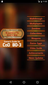 Guide for CoD Black Ops 3 poster