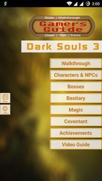 Gamer's Guide for Dark Souls 3 poster