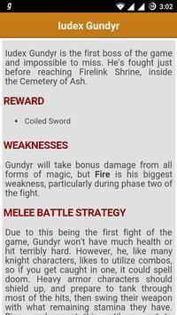 Gamer's Guide for Dark Souls 3 apk screenshot