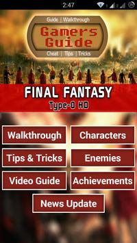 Guide for Final Fantasy T-0 HD poster