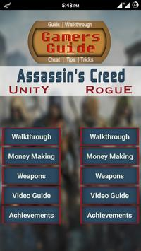 Guide for Assassin's Creed U&R poster