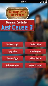 Gamer's Guide for Just Cause 3 apk screenshot