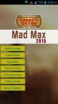 Gamer's Guide For Mad Max poster