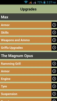 Gamer's Guide For Mad Max apk screenshot