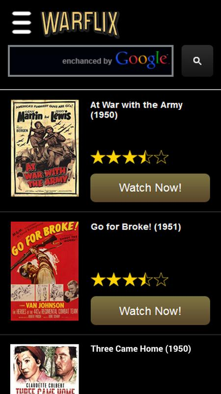 Warflix Tv War Movies Apk Download Free Entertainment