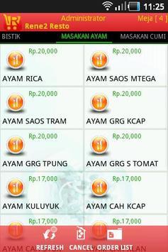 RENE Resto Mobile Order apk screenshot