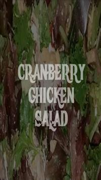 Cranberry Chicken Salad Recipe poster
