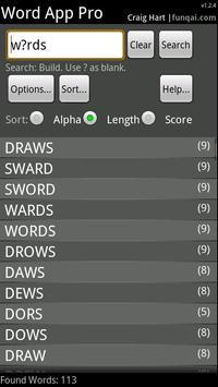 Word App poster