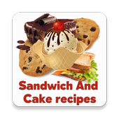 Sandwich And Cake Recipes icon