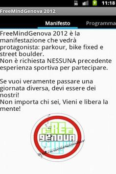 FreemindGenova App! poster