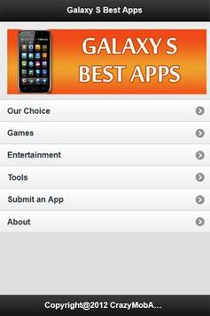 Galaxy S Best Apps poster