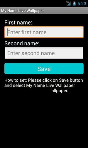 my name live wallpaper apk download free personalization