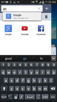 Crema Side Bar Web Browser apk screenshot