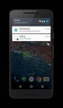 WhatsReader - Message alert apk screenshot