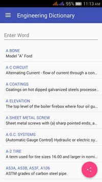 Engineering Dictionary Offline poster