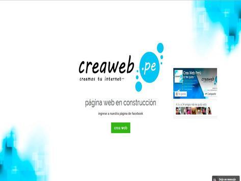 creaweb apk screenshot