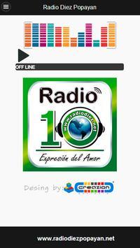Radio Diez Popayan poster