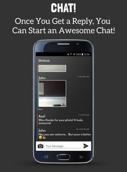 Shotous: Random Chat & Friends apk screenshot