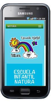 NATURA ESCUELA INFANTIL poster