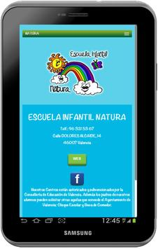 NATURA ESCUELA INFANTIL apk screenshot