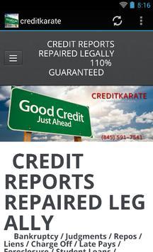 creditkarate poster