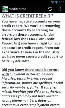 creditkarate apk screenshot
