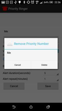 Priority Ringer apk screenshot