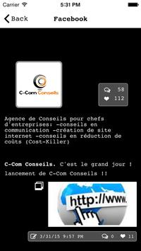 C-Com Conseils apk screenshot