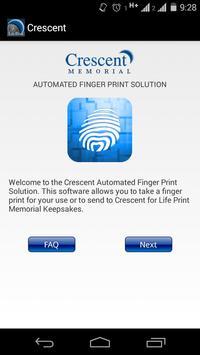 Crescent Finger Print Solution poster