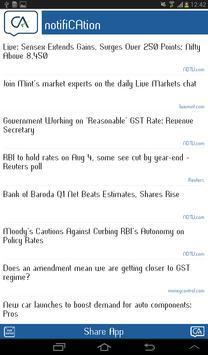 notifiCAtion CA Messenger apk screenshot