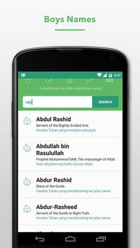 Islamic Names apk screenshot