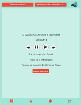 Audio Evangelho Espiritismo V2 apk screenshot