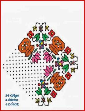 Design Rangoli poster