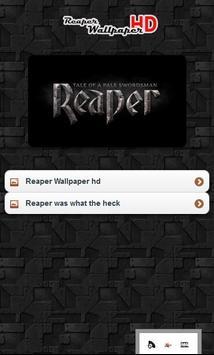 Reaper Wallpaper poster