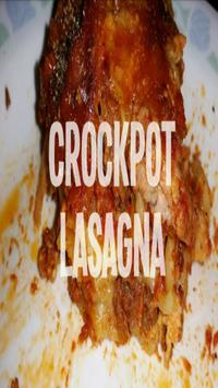 Crockpot Lasagna Recipes poster