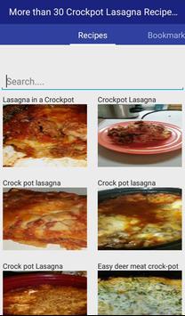 Crockpot Lasagna Recipes apk screenshot
