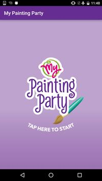 My Painting Party poster