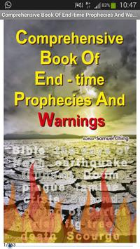 End Times Bible Prophecy poster