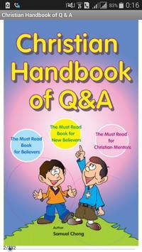Christian Handbook of Q & A poster