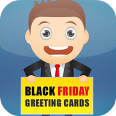 Black Friday Greeting Cards icon