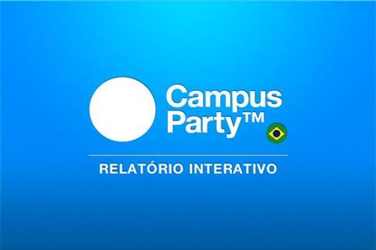 Relatório Campus Party poster