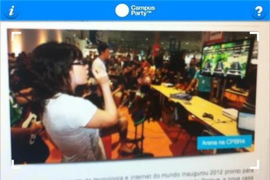 Relatório Campus Party apk screenshot