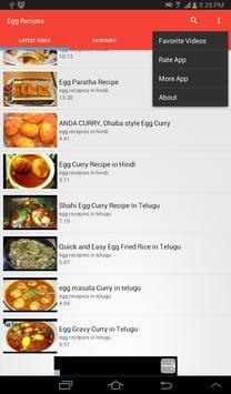 Egg Recipes apk screenshot
