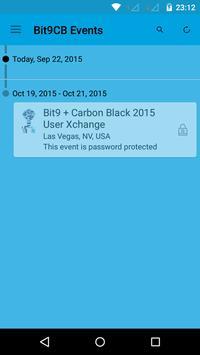Bit9 + Carbon Black Events poster