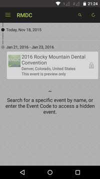 Rocky Mountain Dental Conv poster
