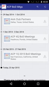 ACP BoD Meetings apk screenshot